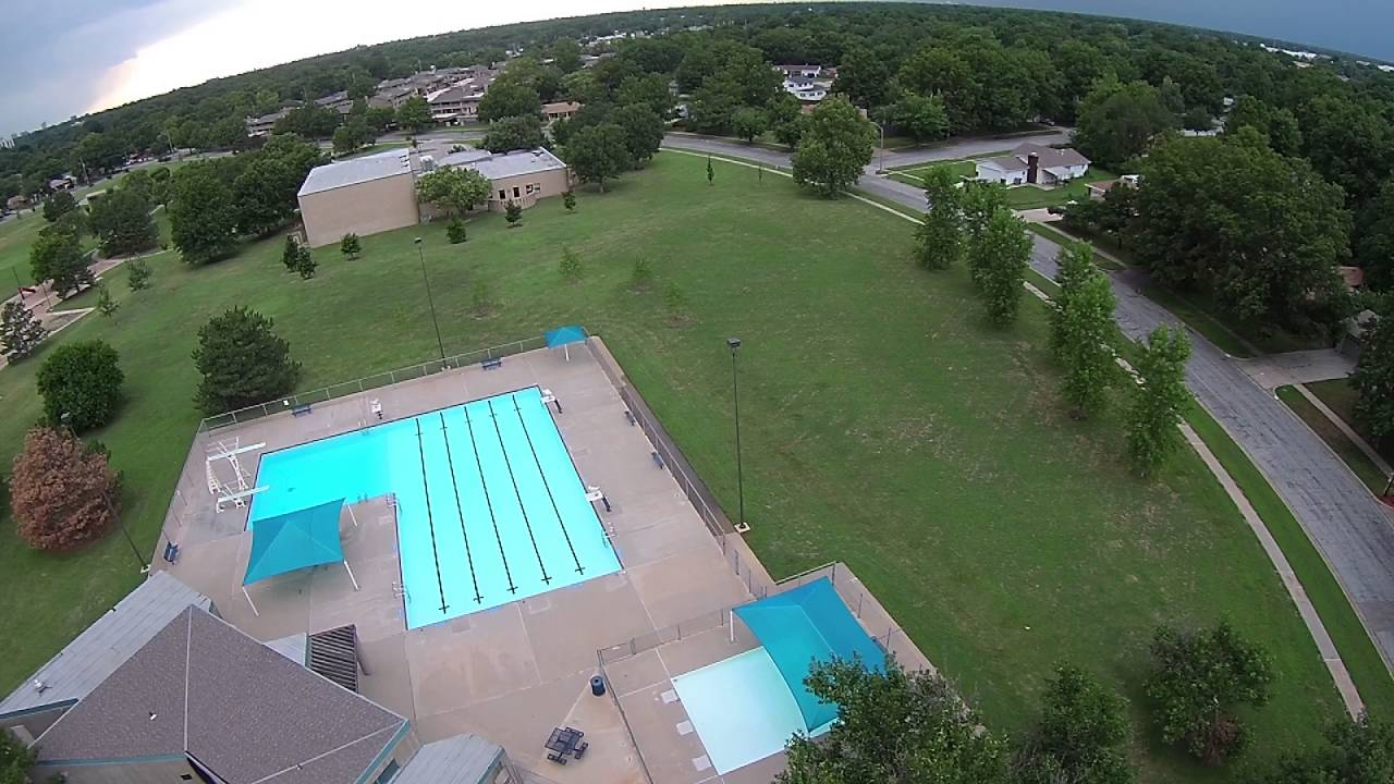 Boston Park Swimming Pool Wichita Ks Youtube