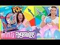 🎈 ¡¡RULETA de GLOBOS SORPRESA con MINI FINGERLINGS!!  🎈Reto MYSTERY Surprise BALLOON Roulette 🐵🦄