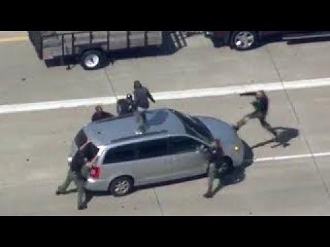 Detroit Police Chase - September 8 2017