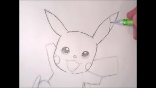 How to Draw: Pikachu Step by Step