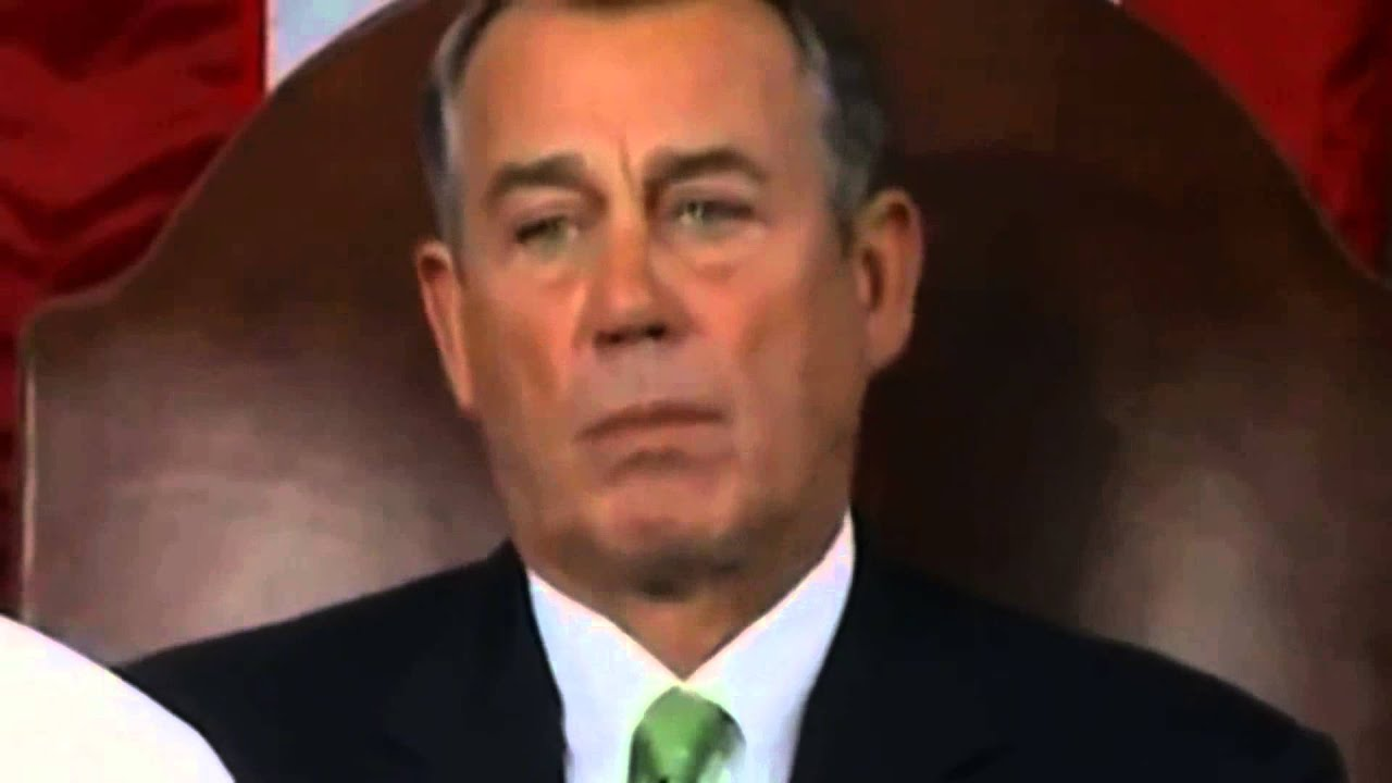 Reptilian/Djinn going crazy - Tongue flicking Reflex of John Boehner