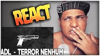 REACT / ADL - Terror Nenhum (Prod. Soffiatti) thumbnail
