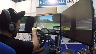SimRacing Expo 2016 Heusinkveld Engineering Stand Test