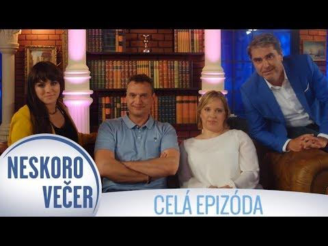 Marcel Forgáč, Ewa Farna a Veronika Vadovičová v Neskoro Večer - CELÁ EPIZÓDA