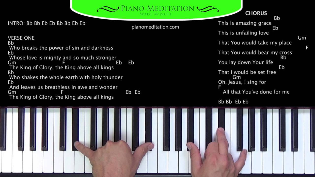 This is amazing grace phil wickham how to play on the piano this is amazing grace phil wickham how to play on the piano youtube hexwebz Gallery