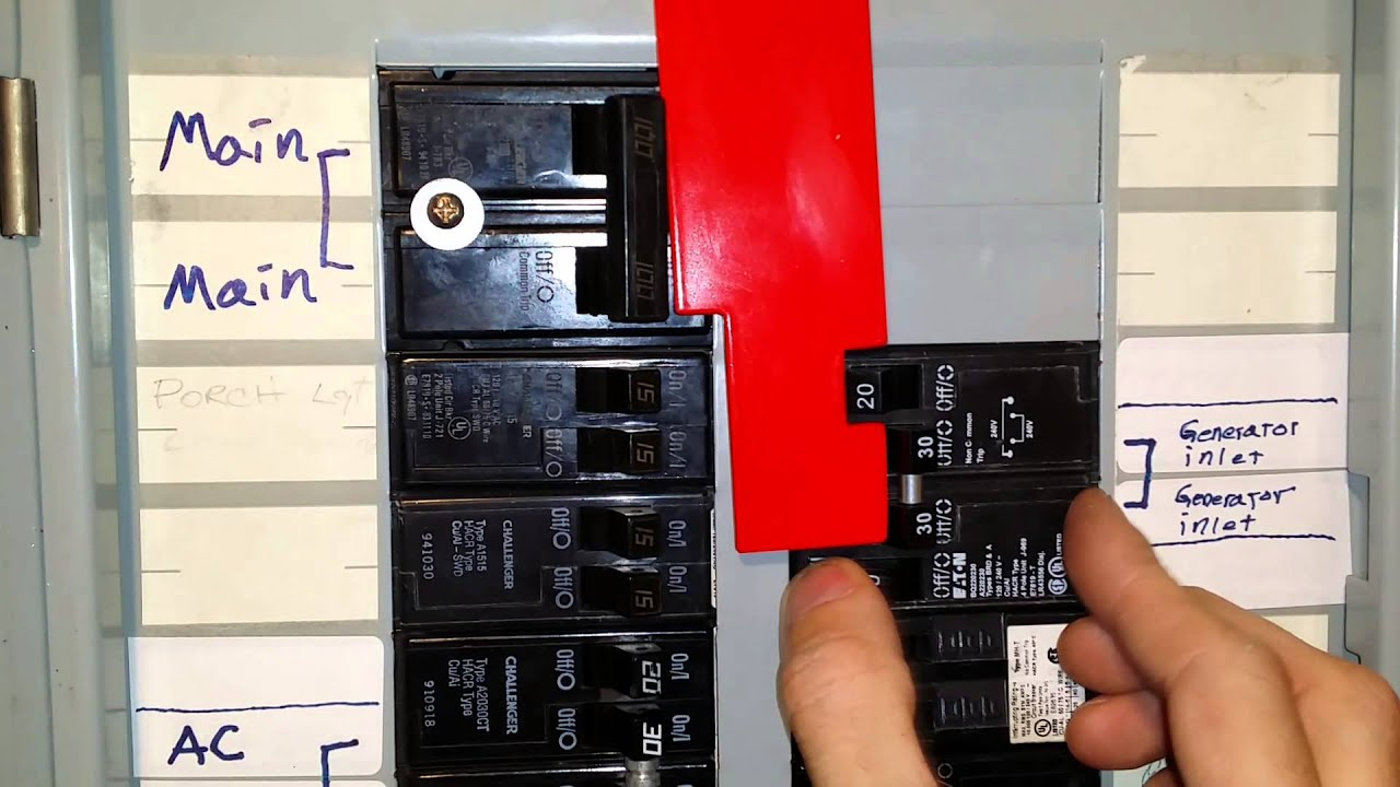 Generator Inlet Interlock Youtube