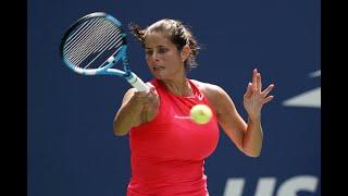 Julia Goerges vs. Kiki Bertens | US Open 2019 R3 Highlights