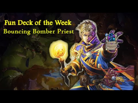 Hearthstone Fun Deck of the Week: Bouncing Bomber Priest