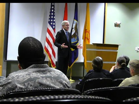 The University of New Mexico--U.S. Secretary of the Navy Campus Visit
