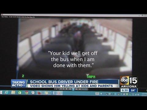 El Mirage school bus driver under fire