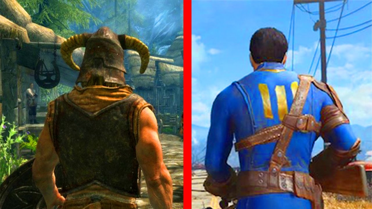 fallout 4 vs skyrim remastered why fallout 4 coop not good