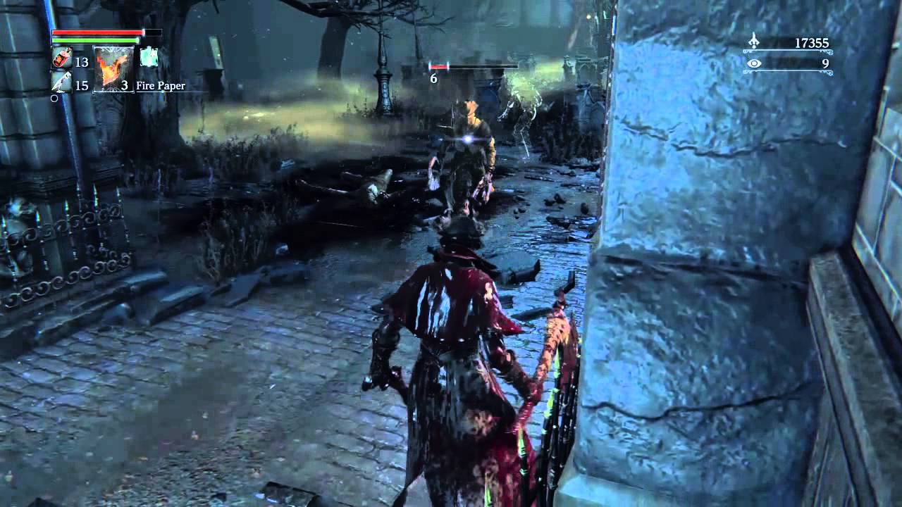 bloodborne how to get blade of mercy as early as possible from the