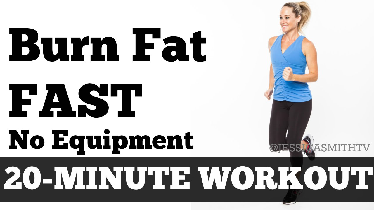 Burn fat fast minute full body workout at home to lose