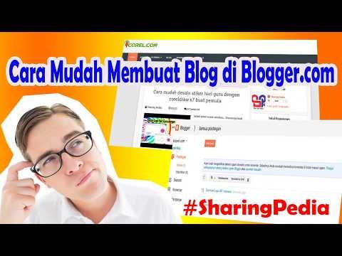 Cara mudah buat blog di blogger terbaru