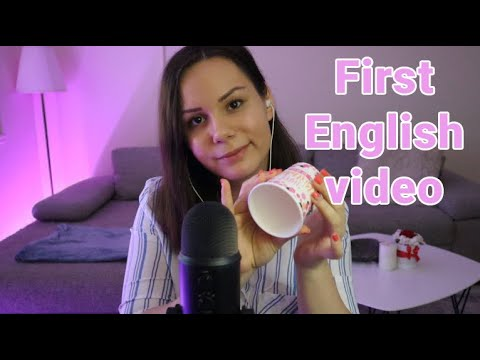 [ASMR] My first ASMR video in English