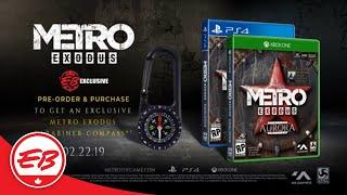 Metro Exodus:  EB Exclusive Pre-Order Bonus! - Deep Silver | EB Games