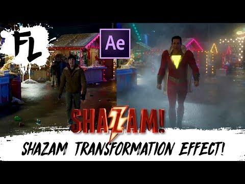 SHAZAM! Transformation Effect Tutorial! | Film Learnin
