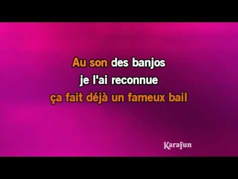 Karaoké Le tourbillon - Jeanne Moreau *