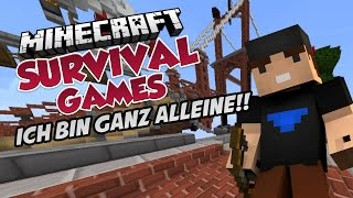 ICH BIN GANZ ALLEINE - Minecraft Survivalgames | Peterle