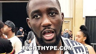 "TERENCE CRAWFORD SENDS KEITH THURMAN A FINAL MESSAGE; TELLS HIM ""TAKE CARE OF PACQUIAO"""