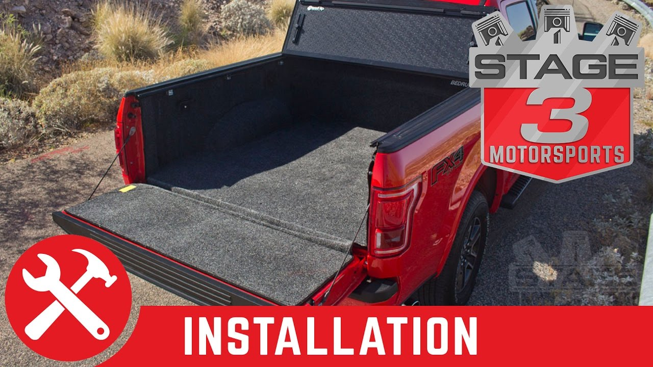2017 2016 F 150 Be Complete Bed Liner Install
