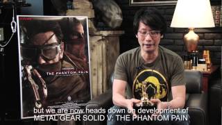 Hideo Kojima Acceptance Speech - Golden Joystick Awards 2014