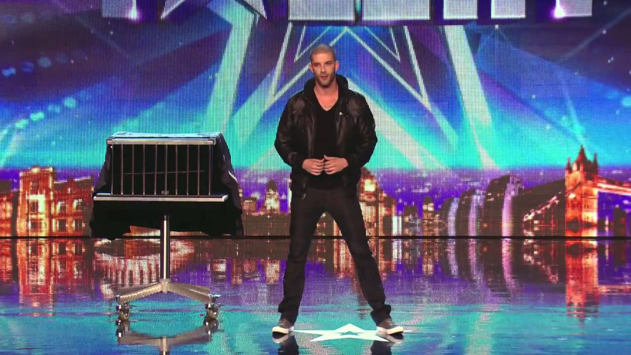 Darcy Oake's jaw dropping dove illusions   Britain's Got Talent 2014