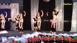 Sacramento Hmong New Year 2016 - 2017 - Dance Comp. RD 1 - Tub Nyiaj Ntxhais Kub