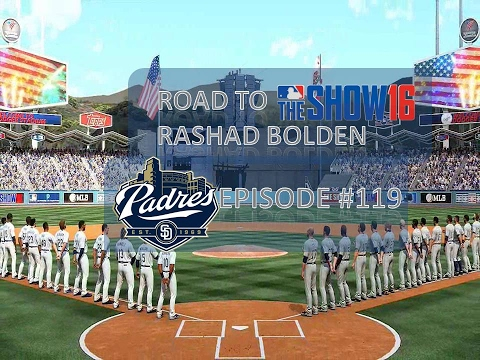 MLB '16: The Show (PS4) | Road to the Show w/Rashad Bolden | EP 119 | NLDS @ Dodgers