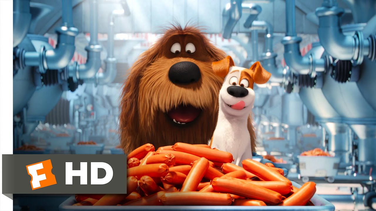 Download The Secret Life of Pets - Sausage Factory Scene (5/10) | Movieclips