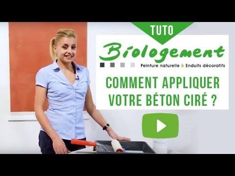 b ton cir comment l 39 appliquer tuto et conseils sur le b ton cir biologement youtube. Black Bedroom Furniture Sets. Home Design Ideas