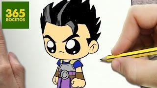 COMO DIBUJAR KYABE DRAGON BALL SUPER KAWAII PASO A PASO - Dibujos kawaii faciles - How to draw KYABE