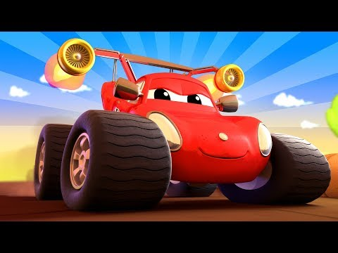 Monter Town - La ville des Monster Trucks | Official Live Stream - Dessins animés pour enfants 🚗