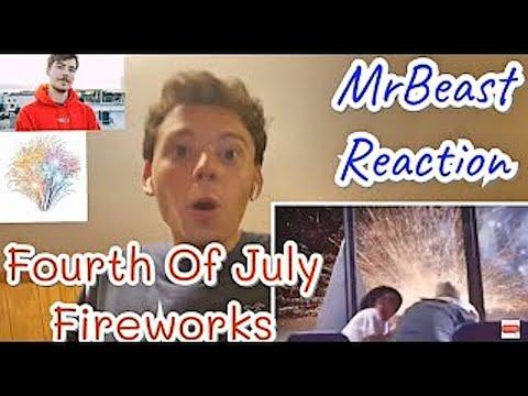 MrBeast Reaction I Bought The World's Largest Firework indir