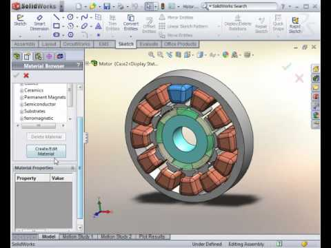Motor Software,EMS: The only Electromagnetic simulator in SolidWorks