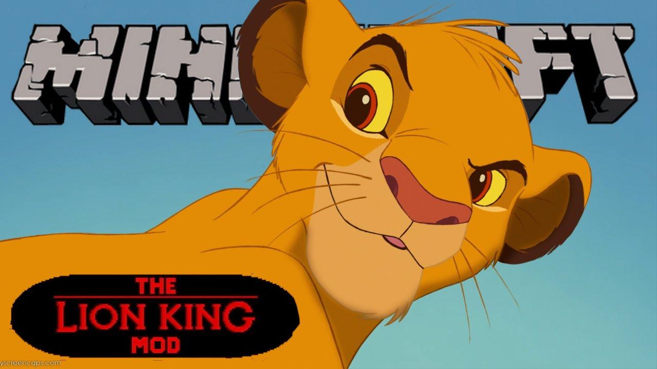 Simba! - O Rei Leão - Minecraft - The Lion King Mod #4