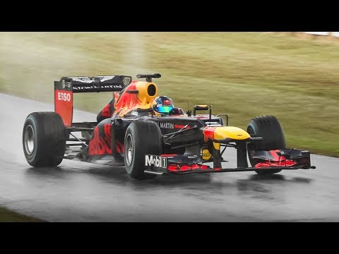 Red Bull RB8 F1 2012 Show by Patrick Friesacher: Screaming V8, Powerslides & Donuts! from YouTube · Duration:  6 minutes 17 seconds
