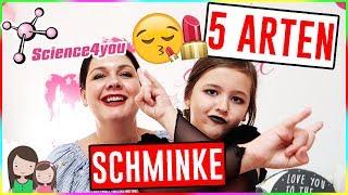 5 coole Arten Schminke 💋 mit Science4you Kosmetik Studio 😍 Alles Ava