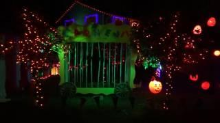 "Spooktacular Halloween House of Lights  ""Clowning Around"" 2016"