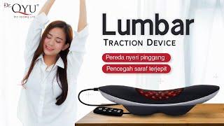 Lumbar Traction Device - Alat Terapi Nyeri Pinggang yang menggunakan 4 teknologi, sehingga sangat ef.