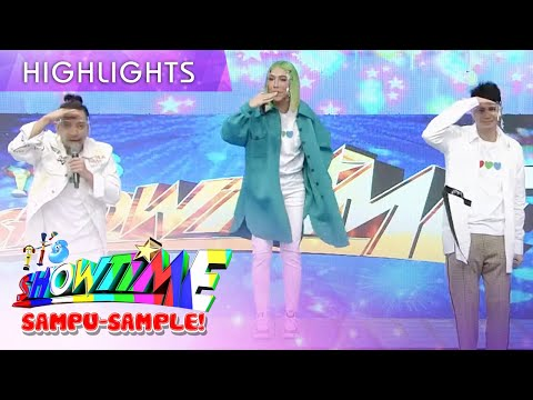 Jhong Hilario teaches dance steps for the new Kapamilya Channel Station ID | It's Showtime