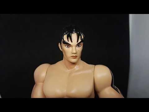 Tekken 3 Jin Devil Jin 1 10 Scale Action Figure Comparison Review Youtube
