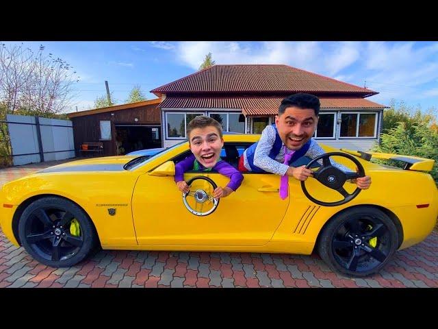 Mr. Joe on Camaro STOLE Part from HOOD & STOLE Sports Car VS Mr. Joker on Opel 13+