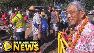 Pohoiki Blessing Before Reopening (Dec. 6, 2018)