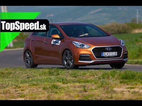 Test Hyundai i30 Turbo TopSpeed.sk