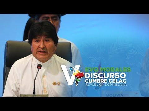 Discurso Evo Morales, Presidente Bolivia V Cumbre Celac 2017