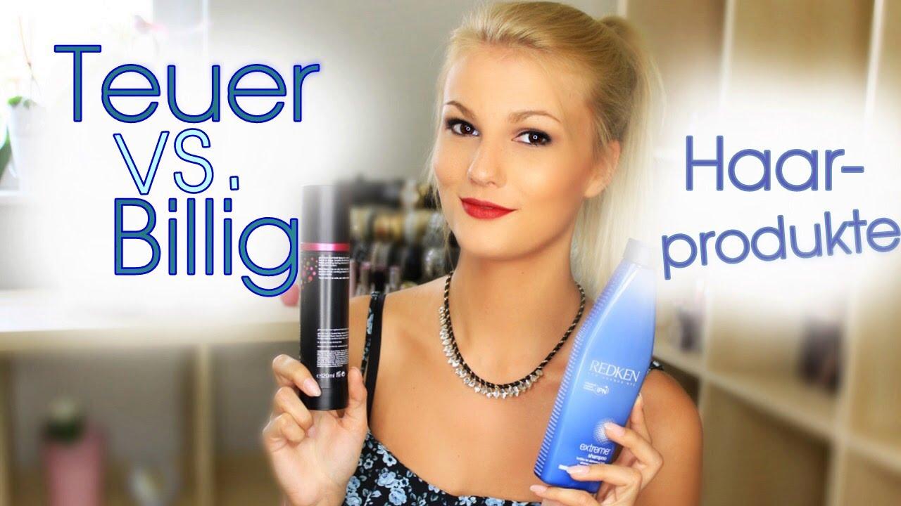Teuer Vs Günstig Haarprodukte Im Vergleich Youtube