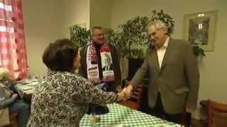 Události - Den s prezidentským kandidátem -  Miloš Zeman