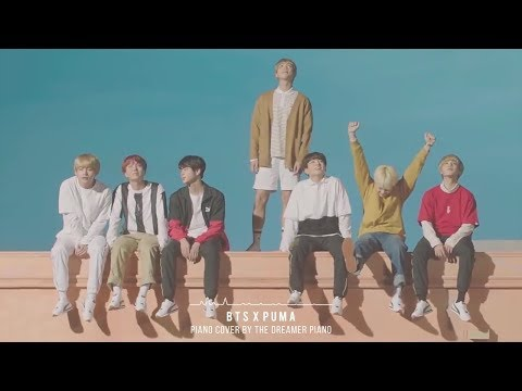 BTS X PUMA TURIN Piano Cover