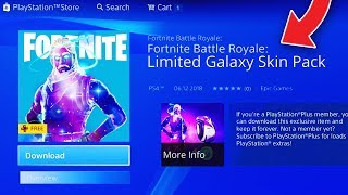 "How To DOWNLOAD ""GALAXY"" SKIN PACK in FORTNITE! (Unlock GALAXY SKIN in Fortnite Battle Royale!)"
